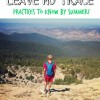 Leave No Trace principles every family needs to know